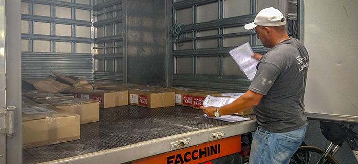 Transporte e Distribuição de materiais